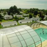 Baie de somme camping picardie piscine couverte chauffee location mobil home le walric