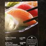 Skai Wok devient Thai Sushi au 14 Faubourg de Saverne a Strasbourg.