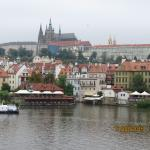 Prague castle and cathedral, unfortunately it was raining. imagine it in good light spectacular