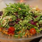 Saisonsalat mit Pfifferlingen