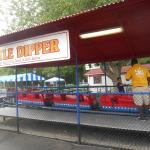 The roller coaster at Memphis Kiddie Park in Cleveland area