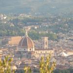 Espetacular vista de Florença
