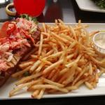 Baguette au homard de la Gaspésie (troooop bon !)
