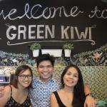 At Green Kiwi Hostel