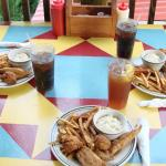 Delicious USA raised catfish dinner!
