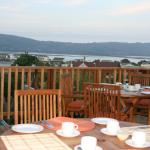 Deck - breakfast or sundowners whilst gazing over Knysna Lagoon