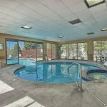 Indoor/outdoor pool and hot tub