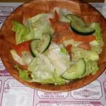 Good sized salads