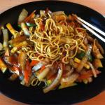 Vegetable yakisoba Yummy!