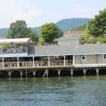 View from Lake George of The Pavilion