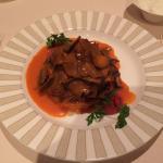 Dinner - baba ghanouj, iskender and kunefe