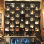 Whiskey collection at TR Fire Grill