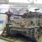 """Exhibition from the movie """"Fury"""" (The actual tanks from the film)"""