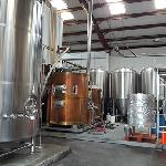 Brewing equipment all shiny and pretty