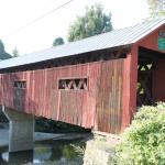 Northfield Covered Bridge by Chris Lance