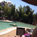 Chalets pour 6 personnes et les piscines