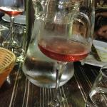 Borie de Maurel rose wine went perfectly with dinner
