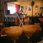 Smooth jazz, mango Margarita's, and good food