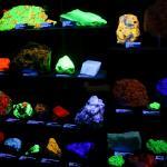 Cool rocks under UV illumination