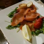 Salmone affumicato