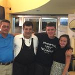 Family dinner at Ristorante Angelina Lauro