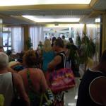 The 08:30 sunbed towel queue saddows