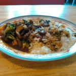 Ming's beef at May House, Ames