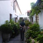 Weg zum Gastgarten