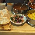 Chicken curry special tiffin