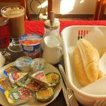 завтрак в Platan
