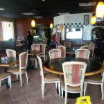 Food & inside restaurant