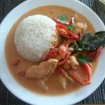 Chicken Red Curry at Tiger Lilly