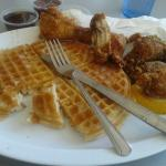 Waffle with Wingettes
