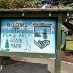 Peace Arch State Park Foto