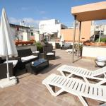 Roof terrace at Conde de Torrejon 10 (17th Aug 2015).