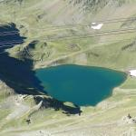 ice cold lake near the Pic Du Midi