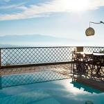 Villa Asteria pool and view