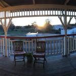 The verandah upstairs