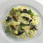 Lunch: Mushroom Rissotto + Glass Lemonade = <£20
