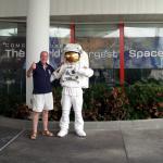 Astronaut encounter.