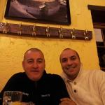 A pranzo presso il ristorante de El Cortijo. . Cn sopra la foto della Plaza De Toros la più anti