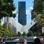 View of Millenium hotel from WTC memorial.