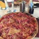 Great pizza..it is a lot of food. 2 adults could share