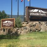Powderhorn Resort Entrance