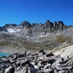 Вид на вершину и озеро Wildsee