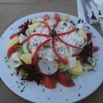 Salade de poulet ananas