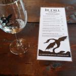 The sweet wine tasting list at J.R. Dill.