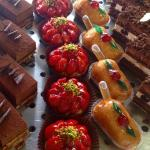 the rather lovely cakes