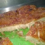 Crocante Plancha de Cerdo