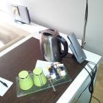 Cafetera de cortesia